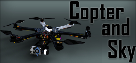 Copter and Sky Banner