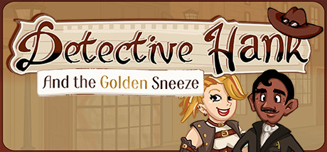 Detective Hank and the Golden Sneeze Banner