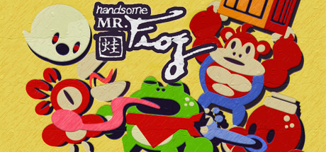 Handsome Mr. Frog Banner