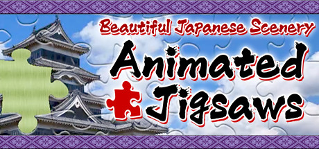 Beautiful Japanese Scenery - Animated Jigsaws Banner