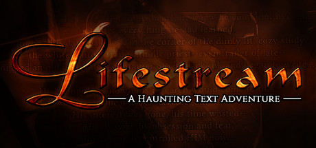 Lifestream - A Haunting Text Adventure Banner
