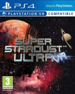Super Stardust Ultra VR Box Art