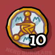 earn-10-badges achievement icon