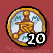 earn-20-badges achievement icon