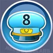 8-level achievement icon