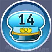 14-level achievement icon