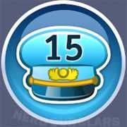 15-level achievement icon