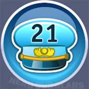 21-level achievement icon