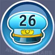 26-level achievement icon
