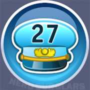 27-level achievement icon