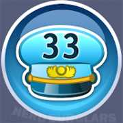 33-level achievement icon