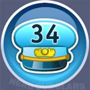 34-level achievement icon