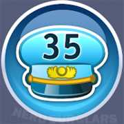 35-level achievement icon
