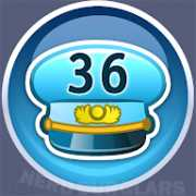 36-level achievement icon