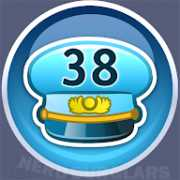 38-level achievement icon
