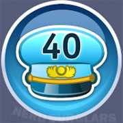 40-level achievement icon