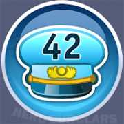 42-level achievement icon