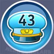 43-level achievement icon