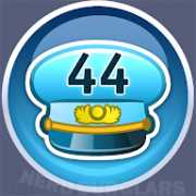 44-level achievement icon