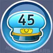 45-level achievement icon