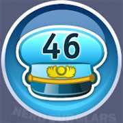 46-level achievement icon
