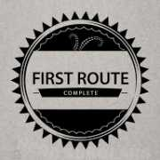 first-route achievement icon