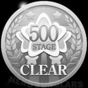 500th-stage-clear achievement icon