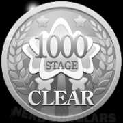 1000th-stage-clear achievement icon