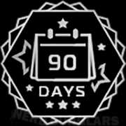 90-days achievement icon