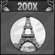 rookie-eifel-tower-cutter achievement icon