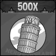 pro-tower-of-pisa-cutter achievement icon