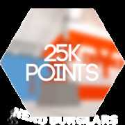 25-000-points achievement icon