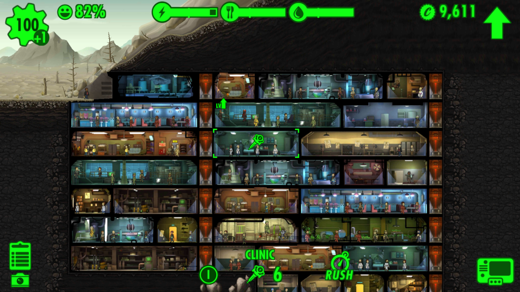Fallout Vault Rooms