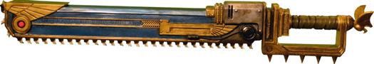 warhammer chainsword