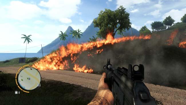 Farcry 3 Fire