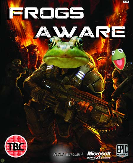 Gears Of War - Frogs Aware