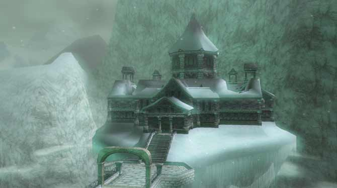 snow peak ruins