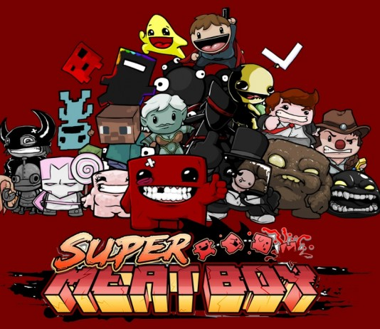 Super Meat Boy Wallpaper