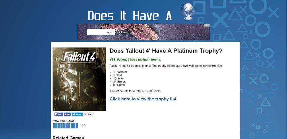 Does It Have a Platinum