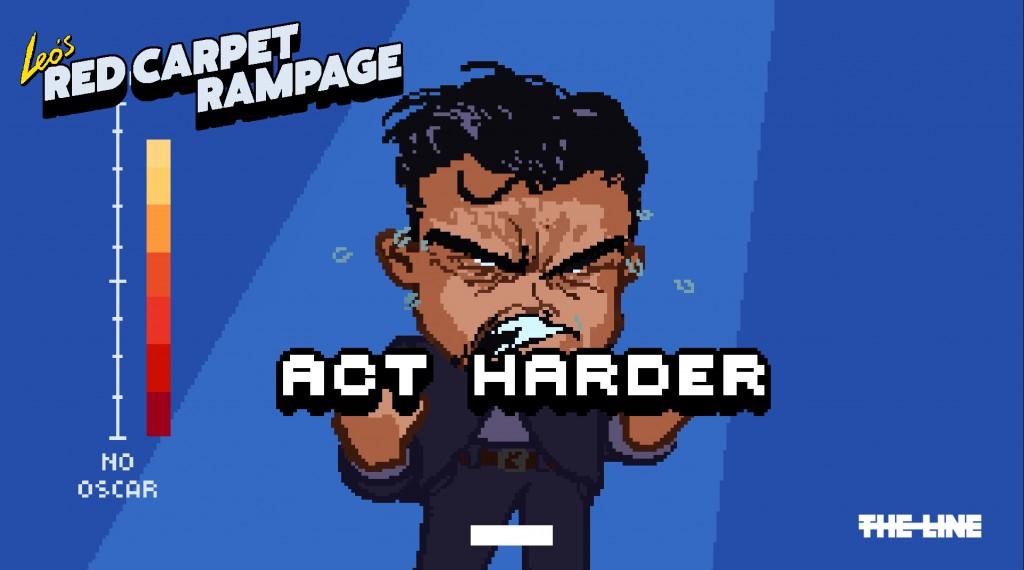 Leo Acting Harder
