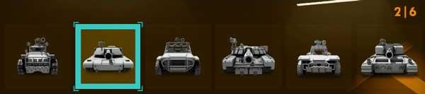 Hardware Rivals Vehicles
