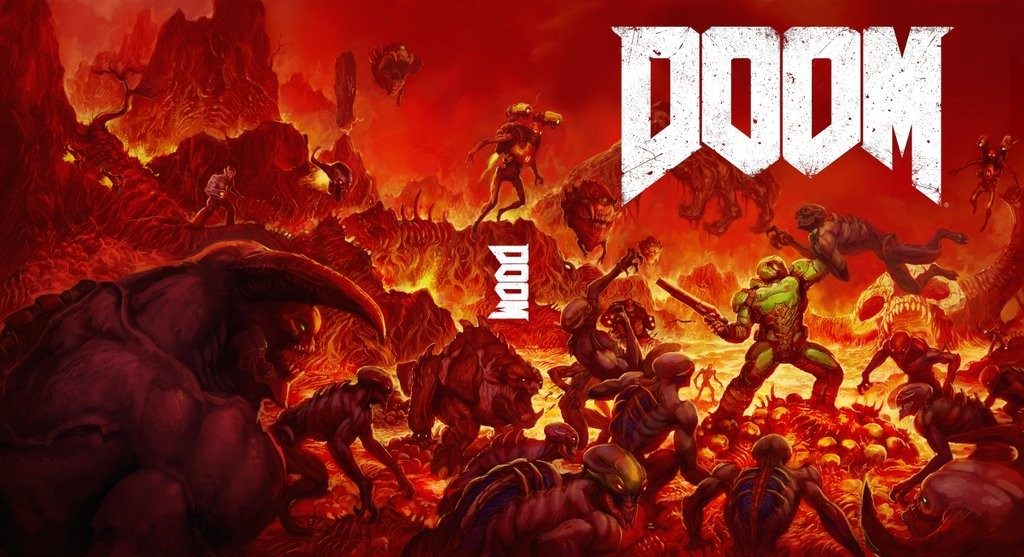 Doom Boxart Option B