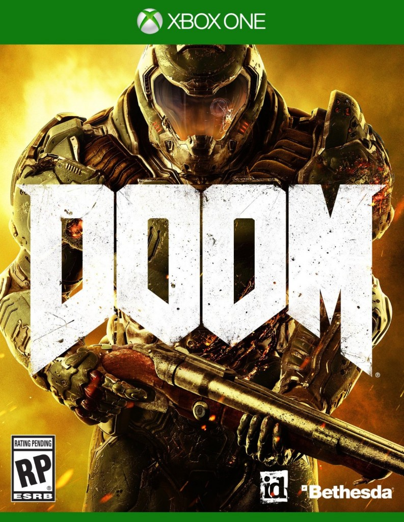 Doom 2016 Original Box Art