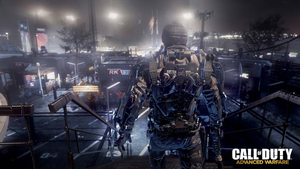 Advanced Warfare Exoskeleton