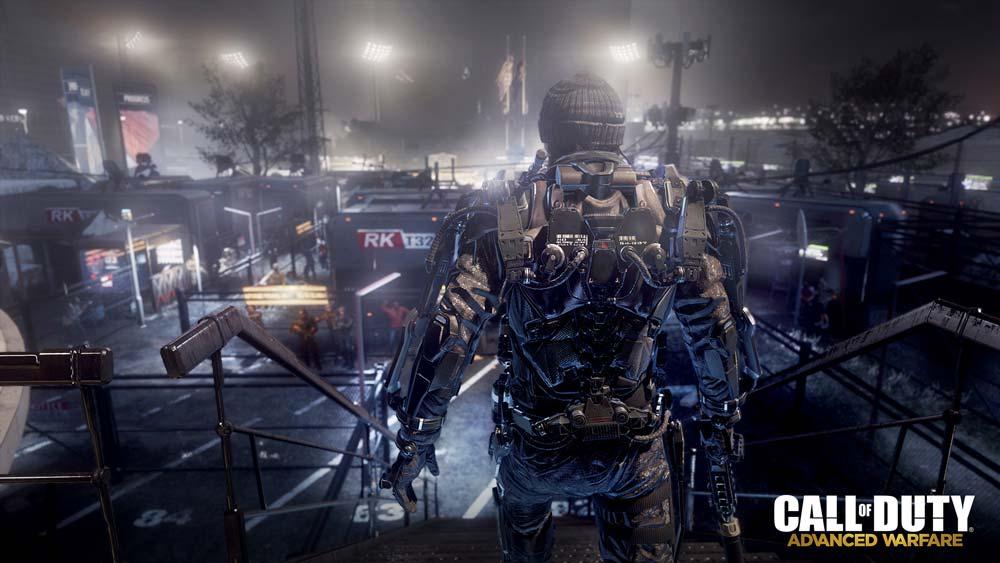 Advanced Warfare Exoskeleton