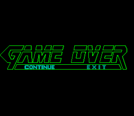 MGS Game Over Screen