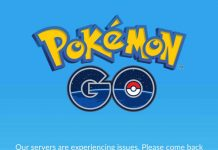 Pokemon go errors
