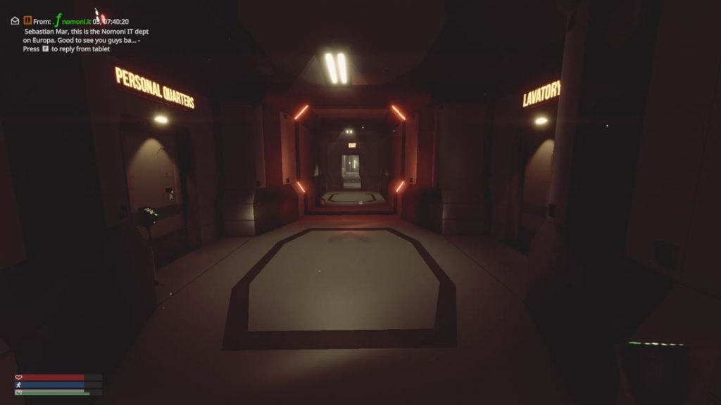 Station Hallway